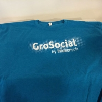 Screen Printed Tee - GroSocial