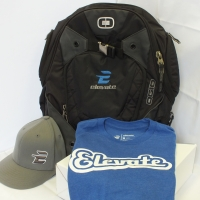 Embroidered Hat, Ogio Backpack, Screen Printed Tee - Elevate