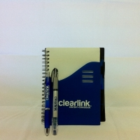 Notebook and Pen - ClearLink