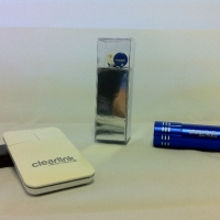 Custom Branded Earbuds, Flashlight, and Portable Mouse - ClearLink