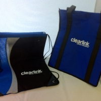 Tote and String Backpack - ClearLink