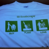 Screen Printed T-Shirt - EcoScraps