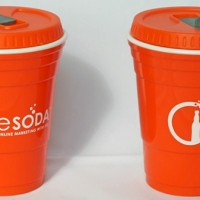 Orange Solo Cup - Orange Soday