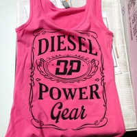Custom Pink Tank Top - Diesel Power Gear