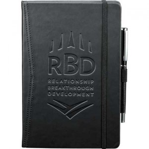 Black Custom Office Journalbook