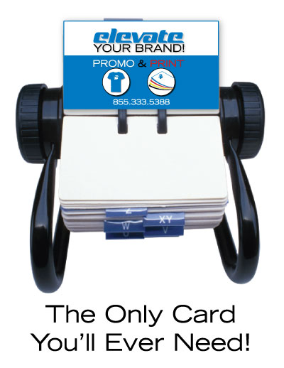 The Only Card You'll Ever Need!