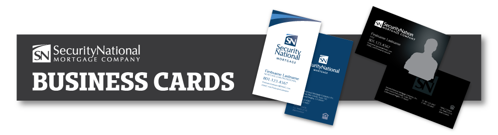 SecurityNational Business Cards