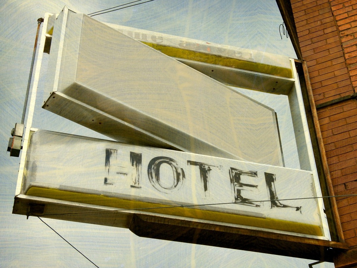 Hotel Sign Aged Do Not Go For The Cheapest Price Find A Company That Is Going To Deliver Quality Check Reviews Ask References As Well Physical